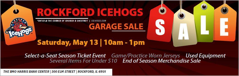 Rockford IceHogs Garage Sale