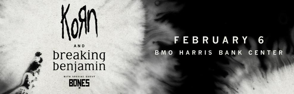 Korn and Breaking Benjamin - Winter Tour 2020