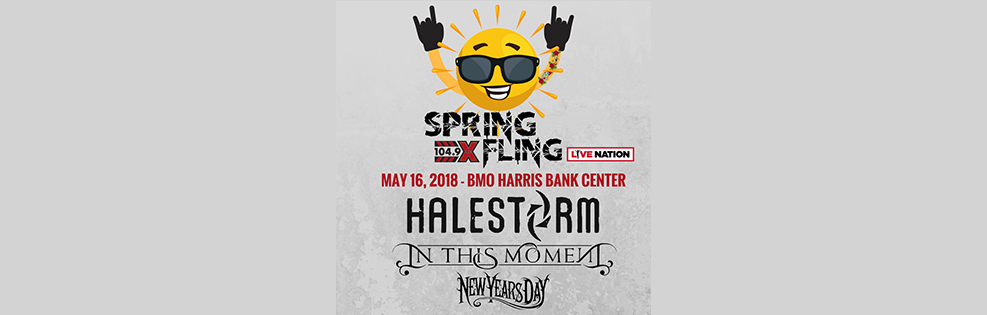 104.9 Spring Fling Halestorm, In This Moment, and New Years Day