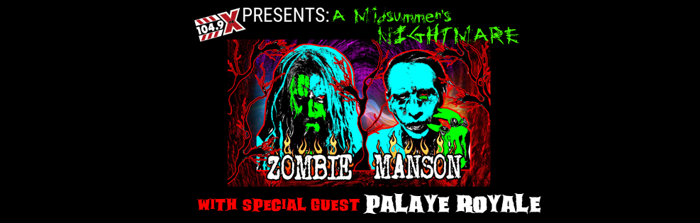 Twins of Evil 2019 Zombie Manson w/special guest Palaye Royale