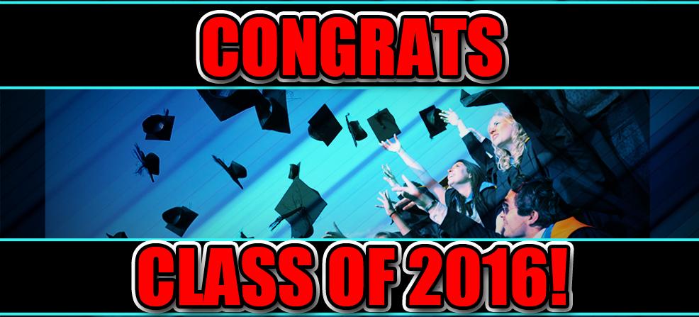 2016 High School Graduation